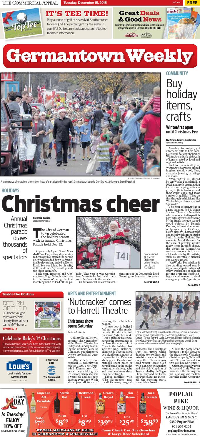 Dec. 15 Germantown Weekly by Special Publications from The ...