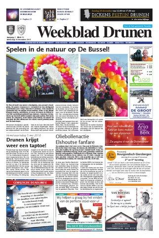 7d6a9195b8a Weekblad Drunen 16-12-2015 by Uitgeverij Em de Jong - issuu