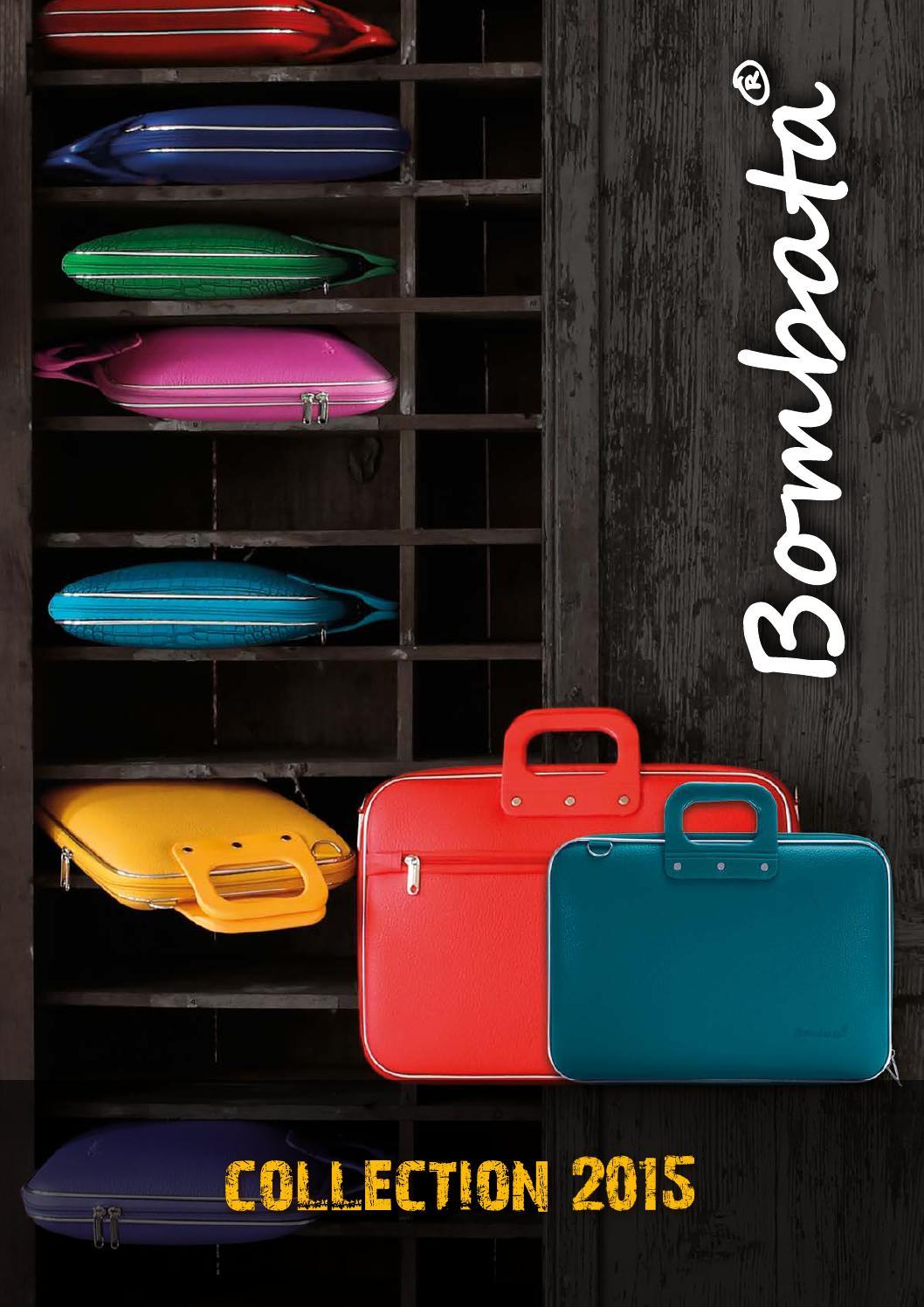 Orange E00661-13 Bombata Cocco Briefcase