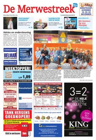 De Merwestreek week51 by Wegener - issuu eed16da3948
