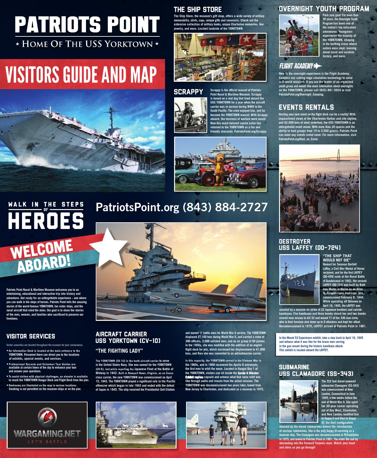 Patriots point Visitors Guide & Map by Patriots Point Museum - issuu