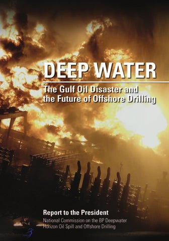 national oil spill commissions final report on deepwater horizon by