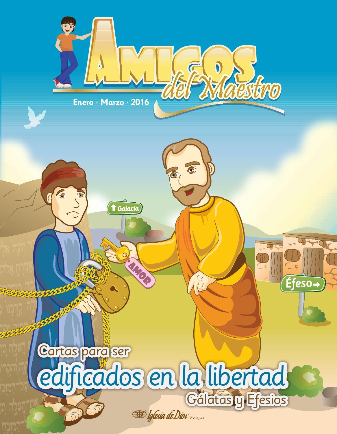 Amigos del Maestro (Enero-marzo, 2016) by Iglesia de Dios (7º día ...