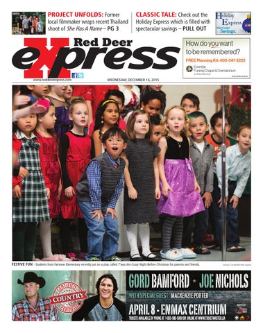 Red Deer Express, December 16, 2015
