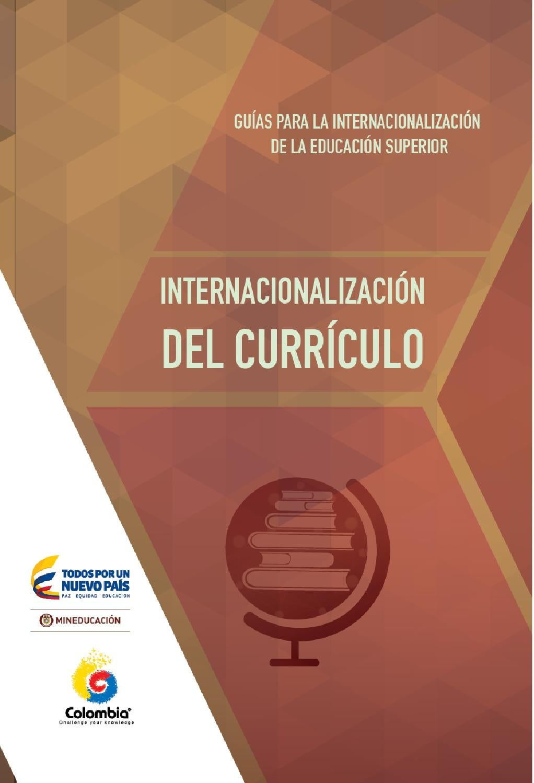 Internacionalización del currículo - Guías para la ...