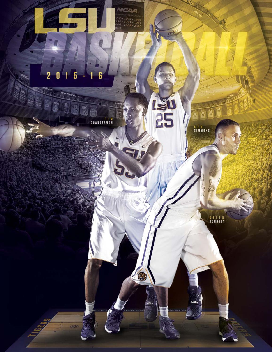 2b2c4d5bc0e4 2015-16 LSU Men s Basketball Media Guide by LSU Athletics - issuu