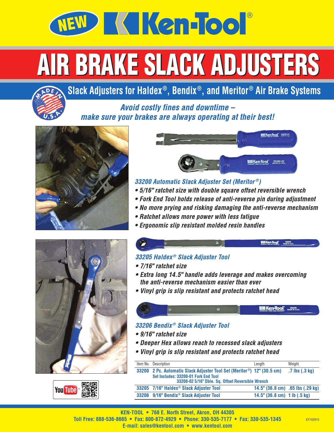 33200 Air Brake Slack Adjusters by Chris Sirgo - issuu