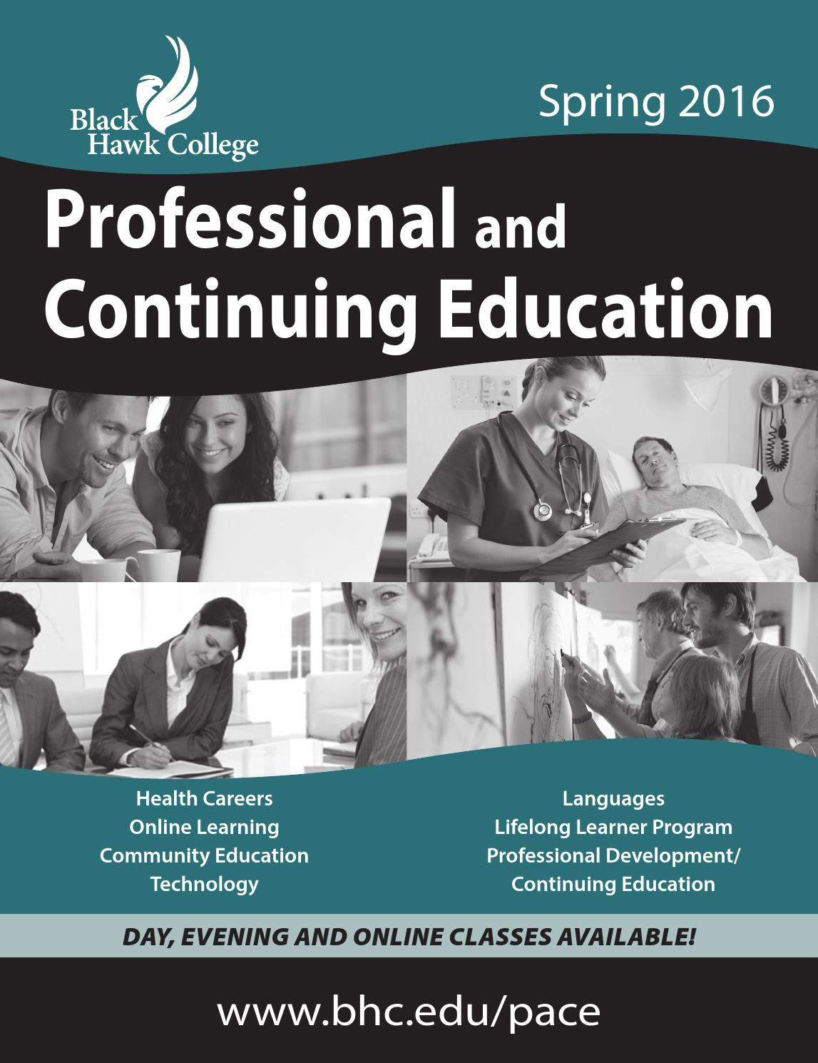 Professional and continuing education spring 2016 by black hawk professional and continuing education spring 2016 by black hawk college issuu fandeluxe Image collections