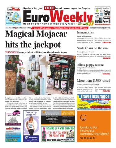 Euro Weekly News Costa De Almeria 17 23 December 2015