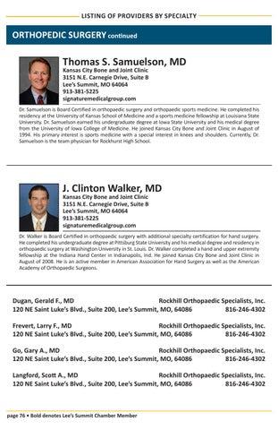 2016 Healthcare Directory