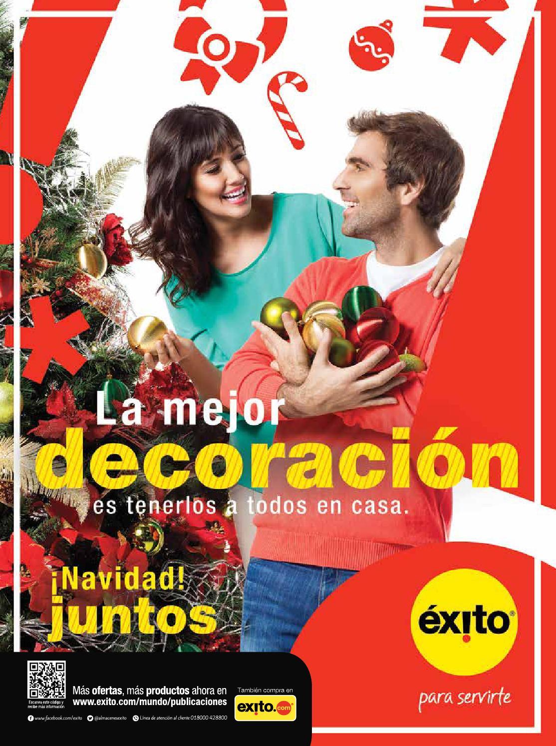 Rev navidad decoraci n almacenes xito by cindy mejia - Almacen exito barranquilla ...