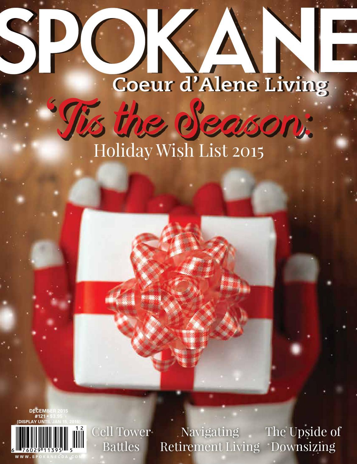 Spokane Cda Living December 2015 By Spokane Magazine Issuu