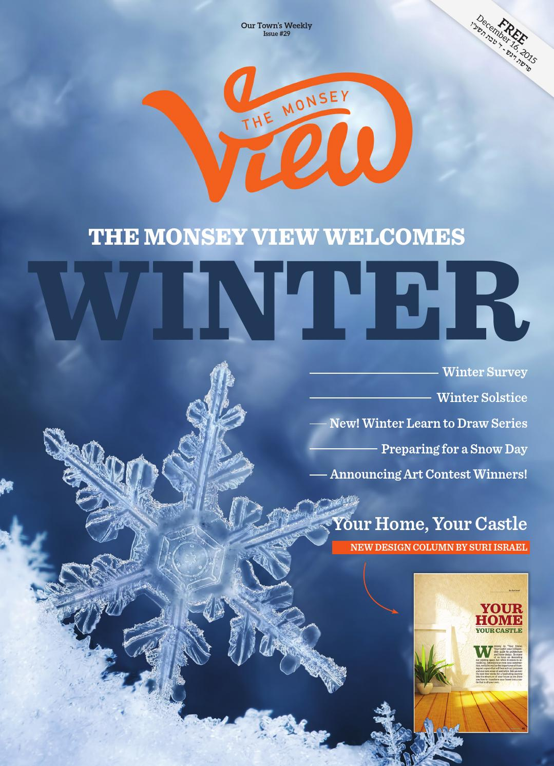 The Monsey View | Issue 29 by The Monsey View - issuu