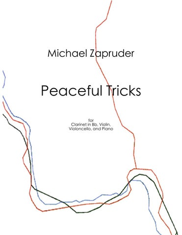 Peaceful Tricks By Michael Zapruder