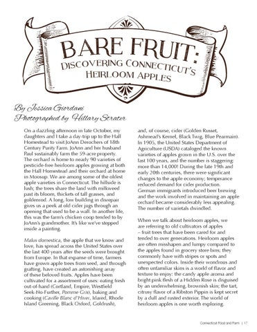 Page 17 of Bare Fruit: Discovering Connecticut's Heirloom Apples