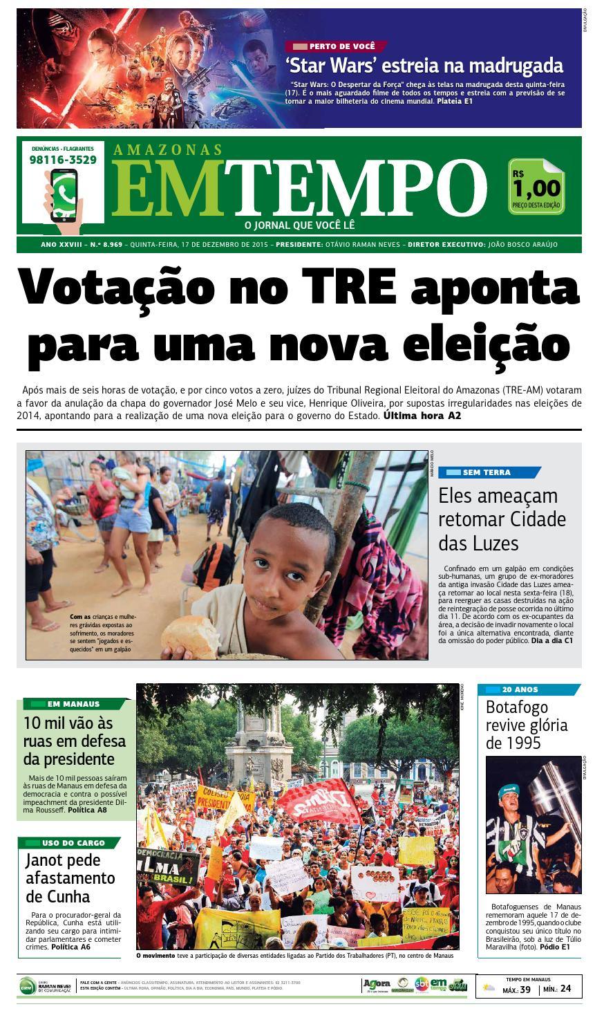EM TEMPO - 17 de dezembro de 2015 by Amazonas Em Tempo - issuu 947caa93da