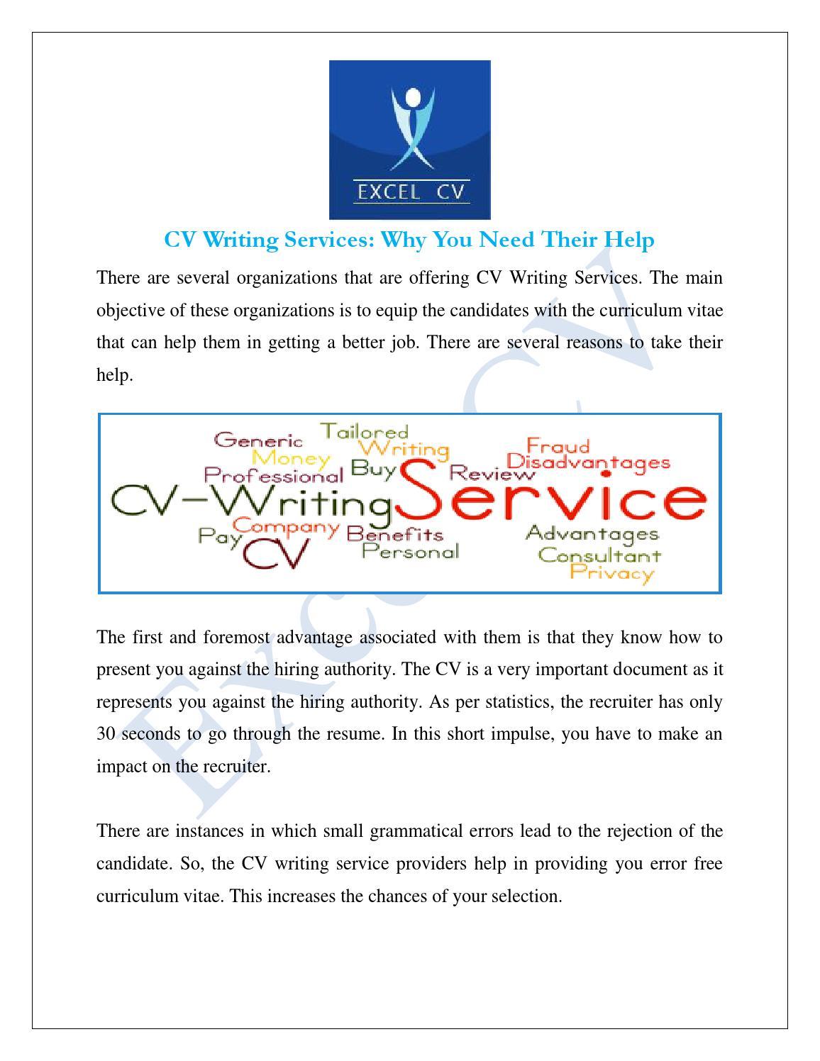 résumé or curriculum vitae review advantages and disadvantages