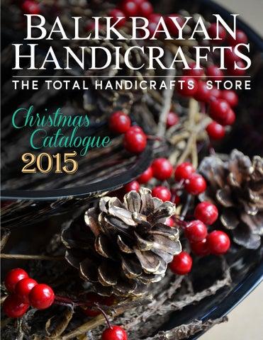 Balikbayan Handicrafts Christmas Catalogue 2015 By Balikbayan