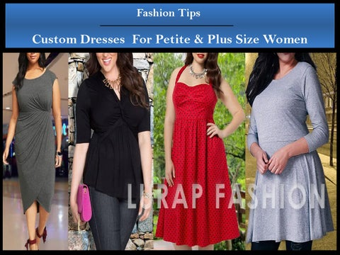 badbcbf4e86 Tips for buying custom petite plus size women dresses online by ...