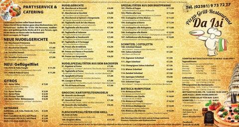Pizza Max Speisekarte Pdf : speisekarte pizzeria da isi pizza grill restaurant ~ Watch28wear.com Haus und Dekorationen
