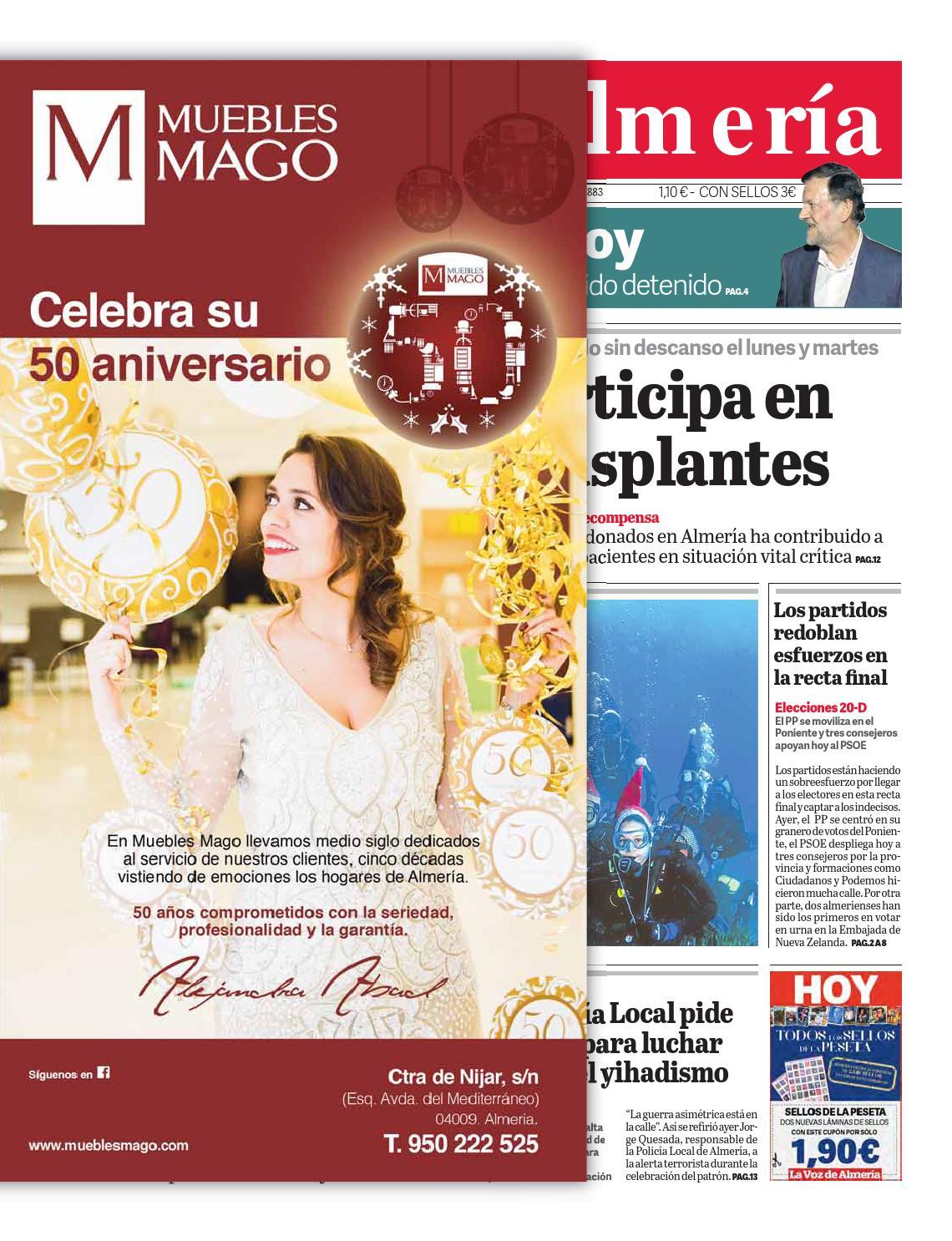 50 aniversario muebles mago by grupo novotecnica issuu for Muebles torrecardenas