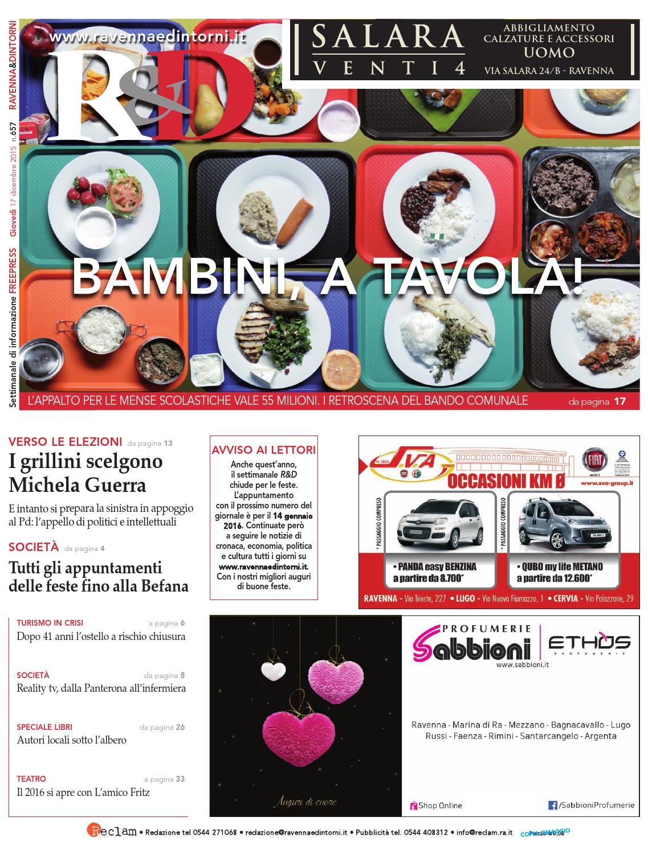 Rd 17 12 15 by Reclam Edizioni e Comunicazione - issuu 00f95fe2d7e