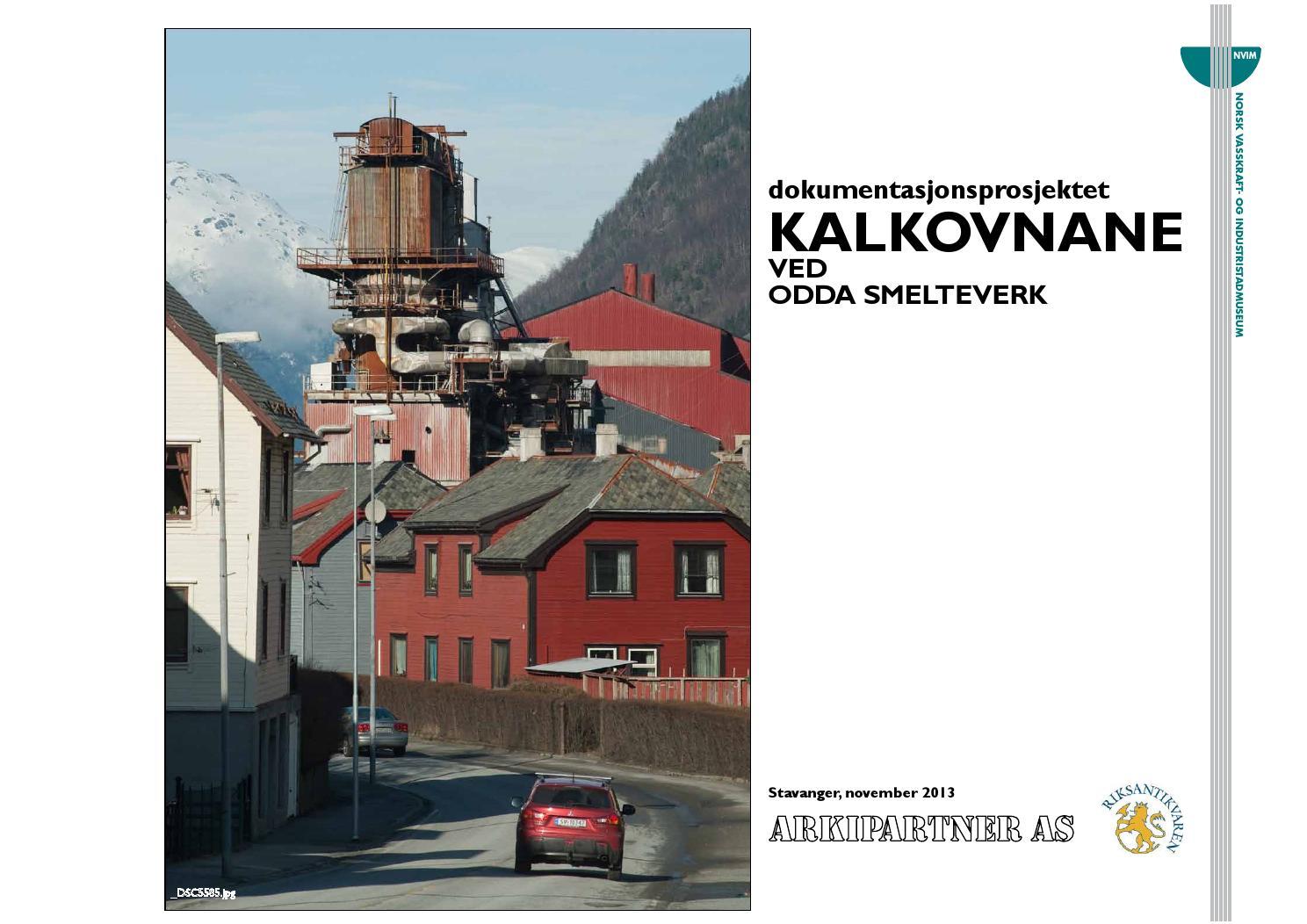 0e7d28ba47342 Dokumentasjonsprosjekt Kalkovnane ved Odda Smelteverk by Kraftmuseet - issuu