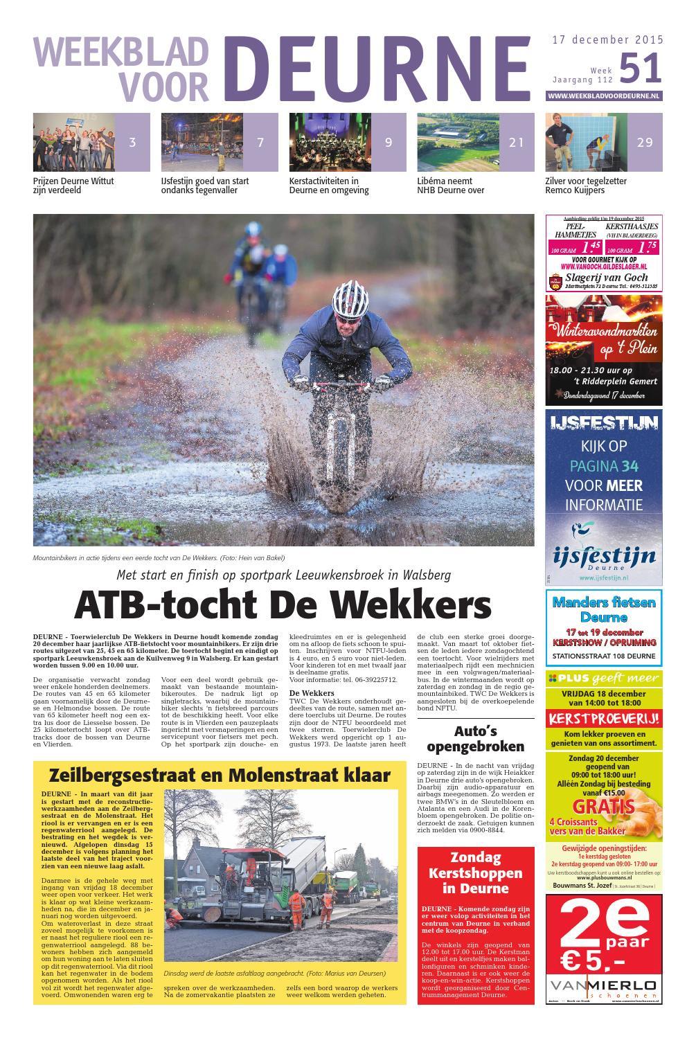 8c395953391a1a Weekblad voor Deurne wk51 by Das Publishers! - issuu