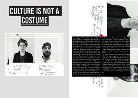 Culture Is Not A Costume by Danica Hatton - issuu
