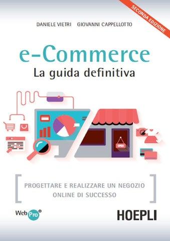 E commerce la guida definitiva progettare e realizzare un negozio online af313b88328b