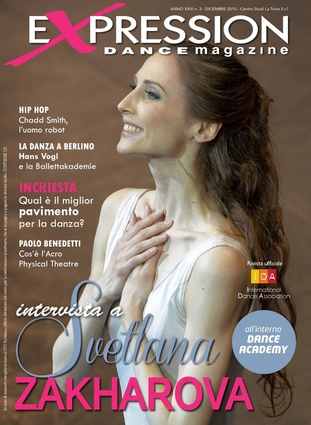 Expression Dance Magazine dicembre 2015 by IDA International