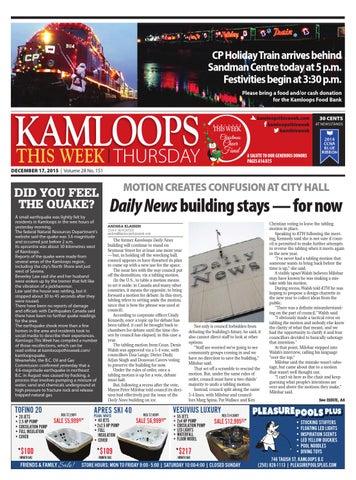 15a0ba611fd Kamloops This Week, December 17, 2015 by Black Press Media Group - issuu