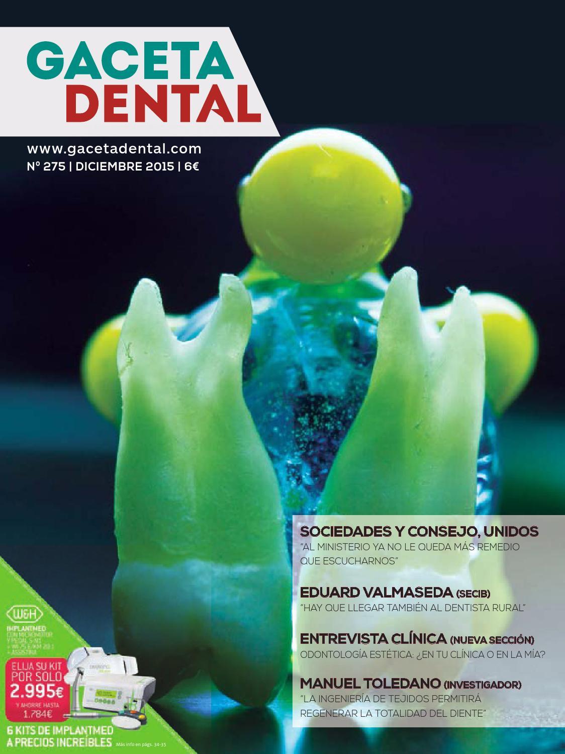 Gaceta Dental - 275 by Peldaño - issuu