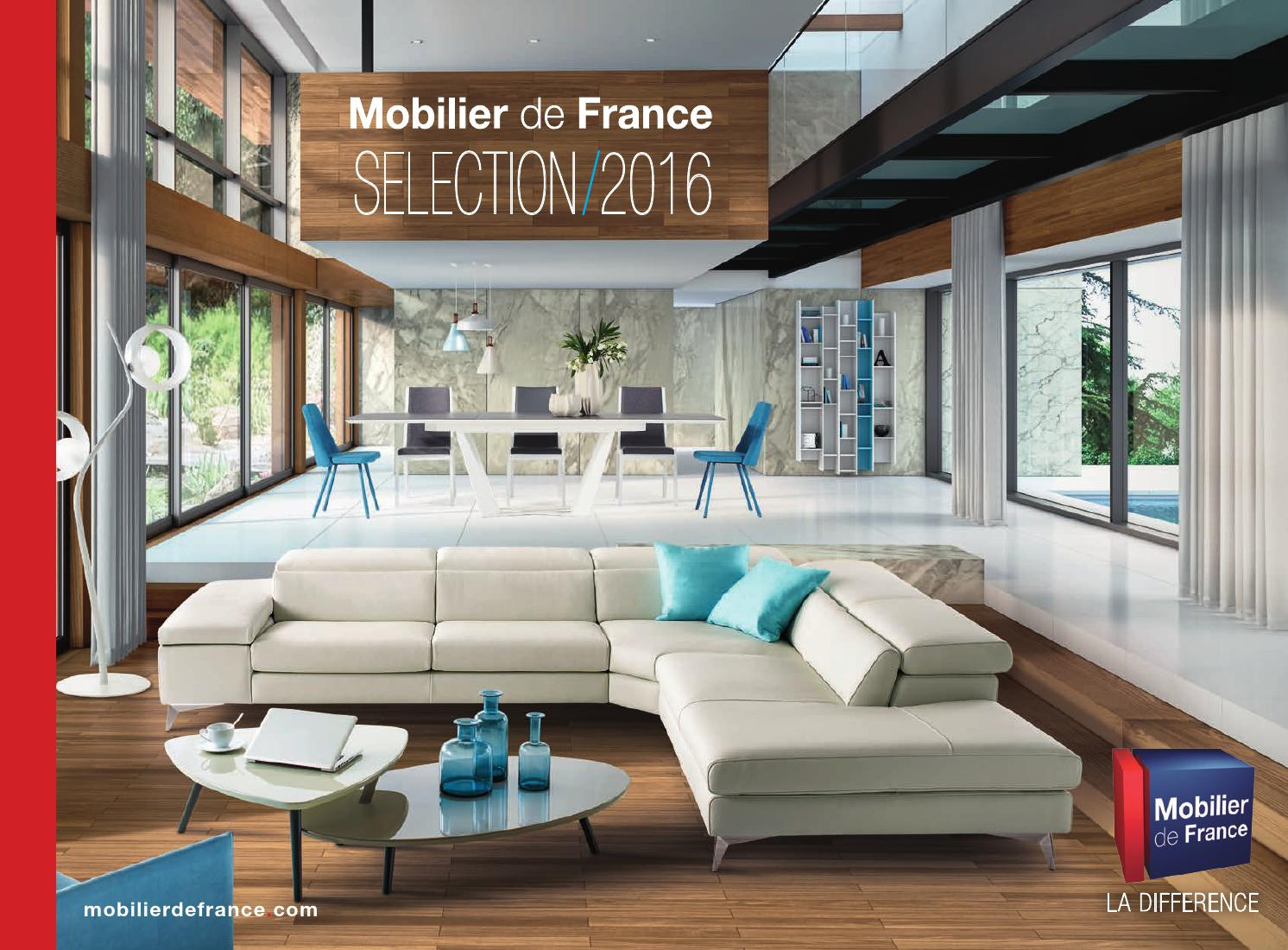 Mobilier de france catalogue 2016 by communication issuu for Mobilier de france canape d angle