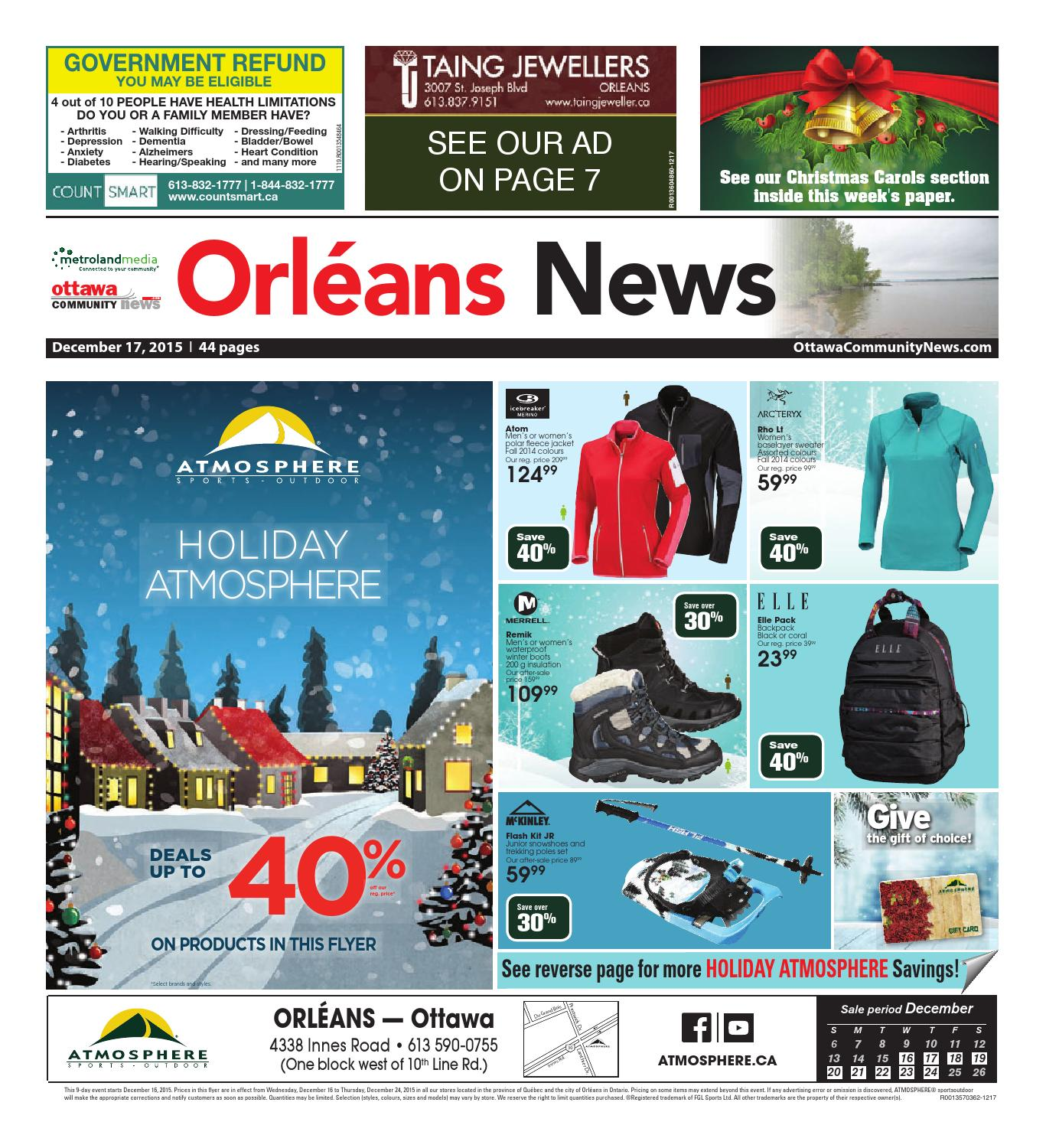 Orleans121715 By Metroland East Orleans News Issuu Jr Foldable Travel Bag Wide 21