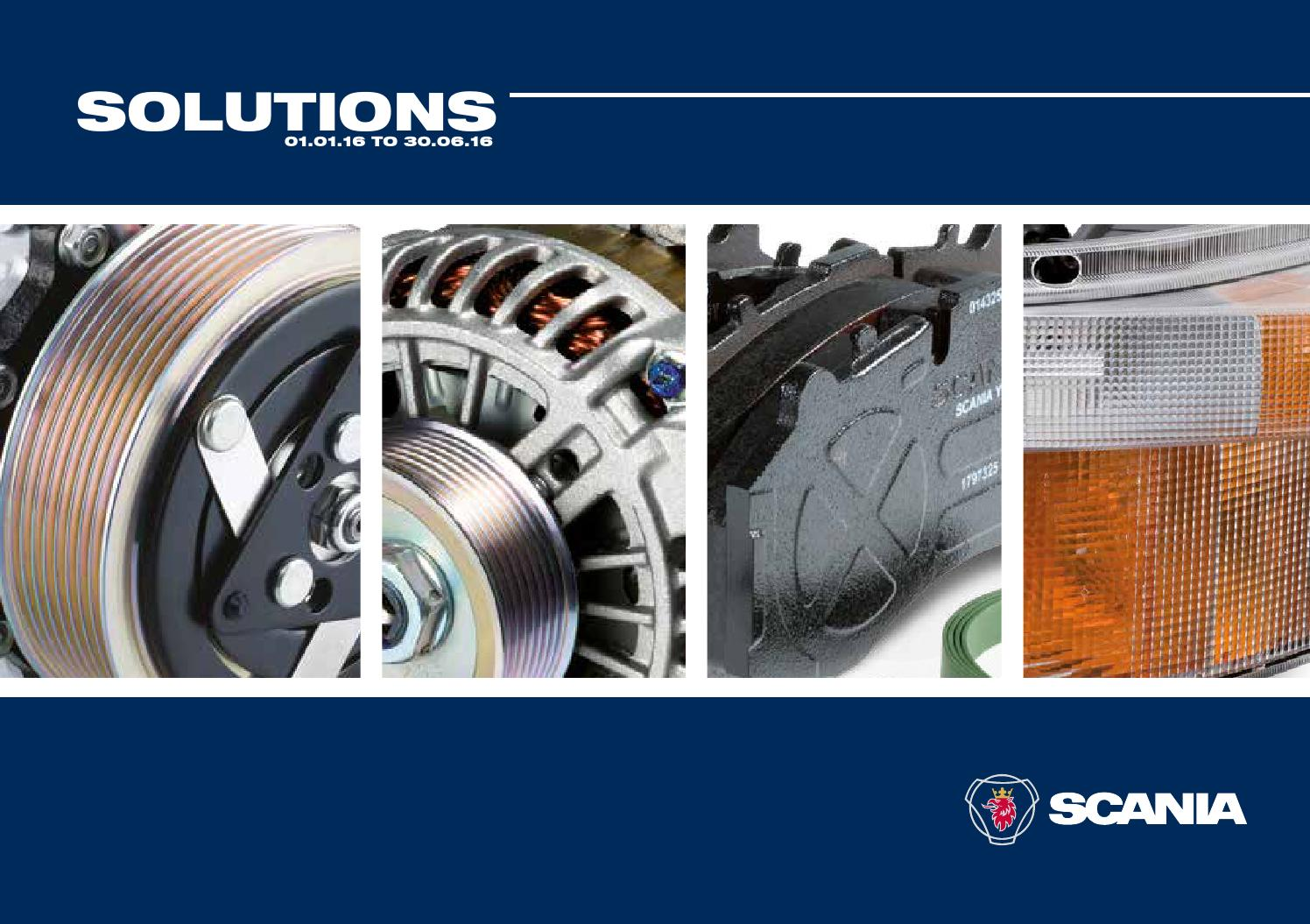 Scania solutions brochure 2016 by Scania (Great Britain
