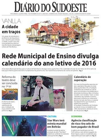 fdd91d3f5 Diário do sudoeste 17 de dezembro de 2015 ed 6534 by Diário do ...