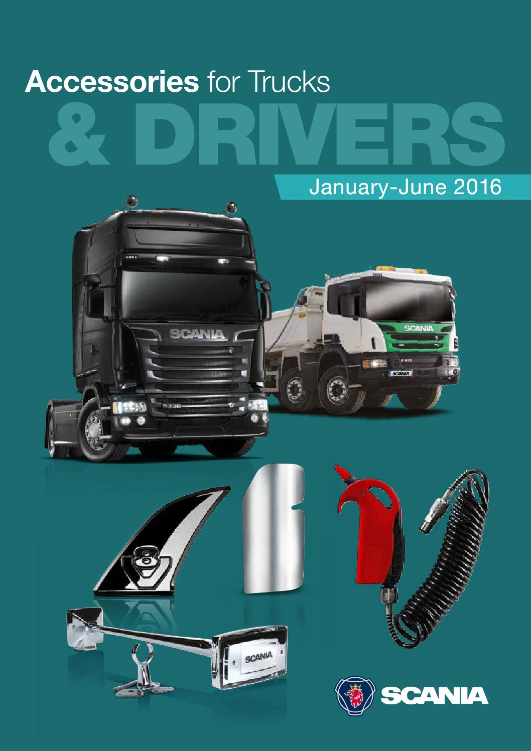 scania accessories brochure 2016 by scania great britain