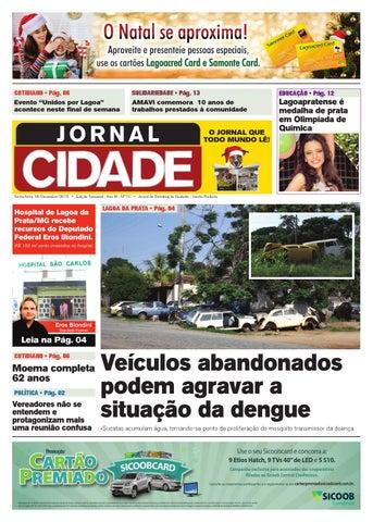 54f442e98 Jornal Cidade - Lagoa da Prata - Nº 70 - 18/12/2015 by Jornal Cidade ...