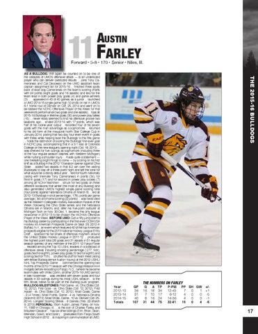 6f9533174 2015-16 UMD Men's Hockey Media Guide/Yearbook by UMD Bulldogs - issuu