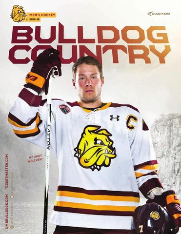 umd bulldog hockey tickets 2015 16 umd men s hockey media guide yearbook by umd 3530
