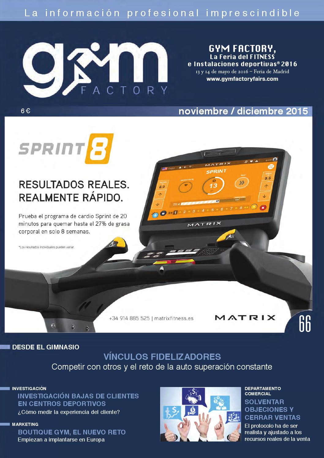 the best attitude 3e847 66eff Gym Factory   Gestion nº 66 by Gym Factory Magazine - issuu