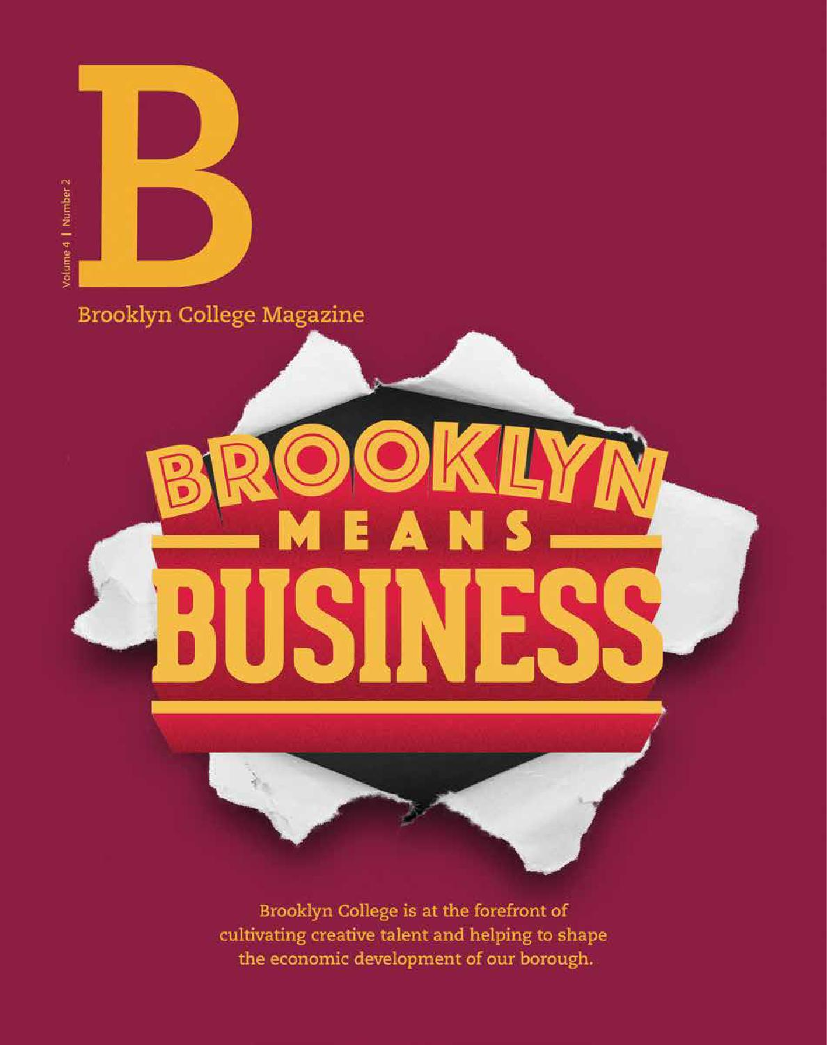 Brooklyn College Magazine Volume 4 Number 2 By Brooklyn College