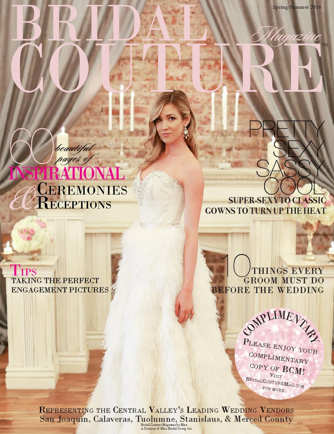 Bridal Couture Magazine Spring Summer 2016 By