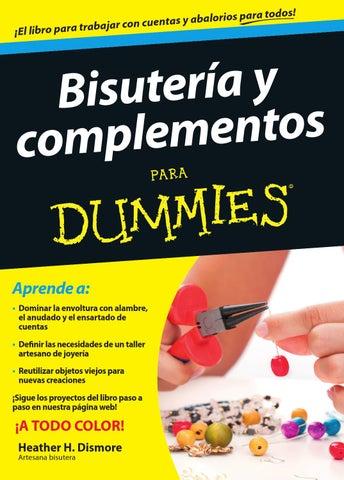 Bisuteria complementos para dummies by gaby c issuu - Complementos de bisuteria ...