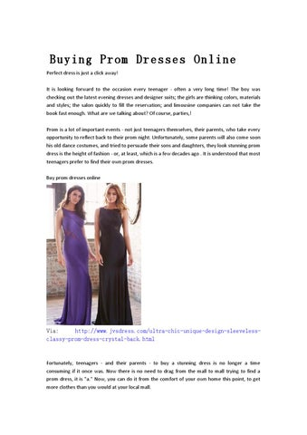 Buying prom dresses online-jvsdress by vickysunny - issuu