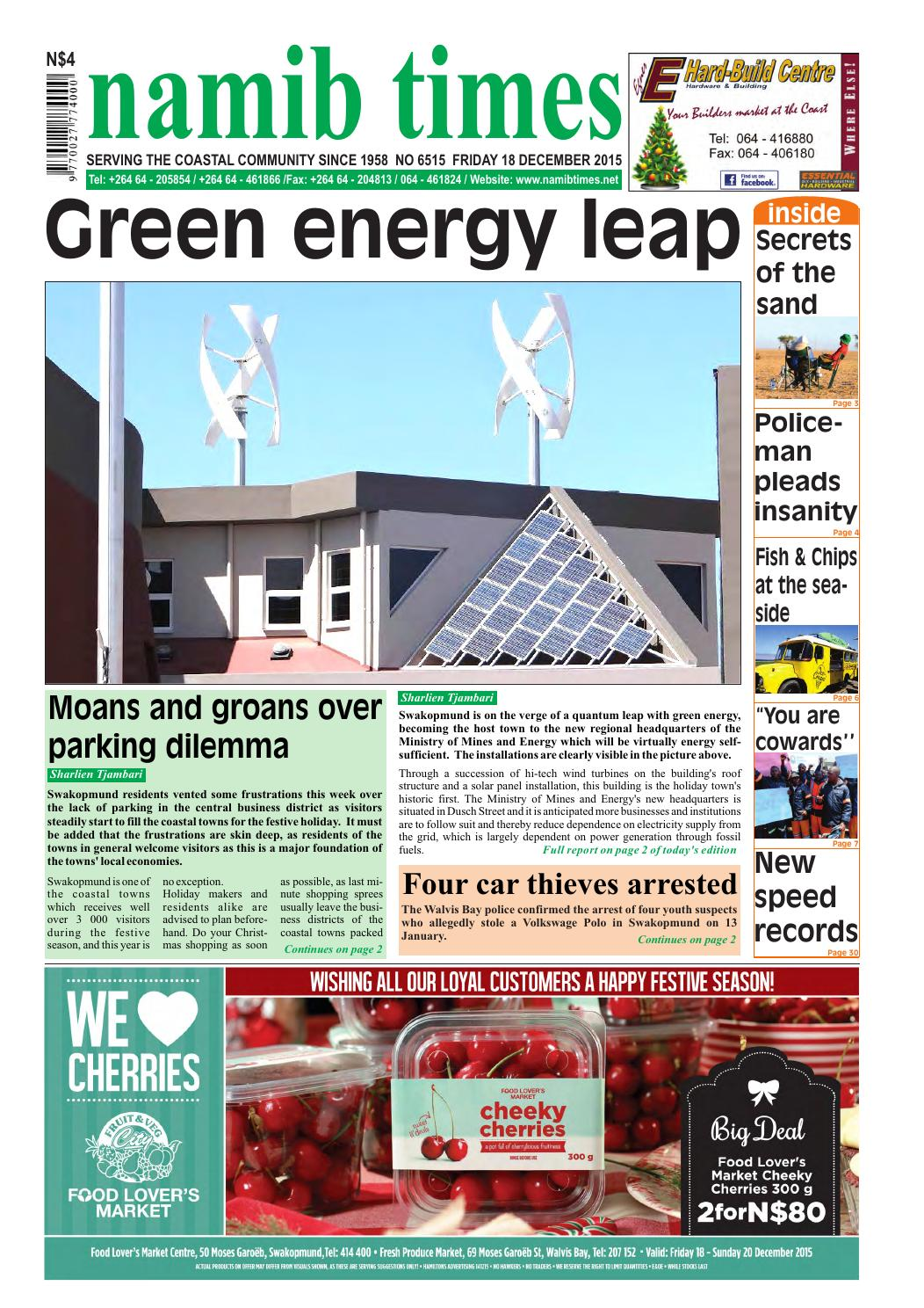 18 december namib times e edition by namib times virtual issuu