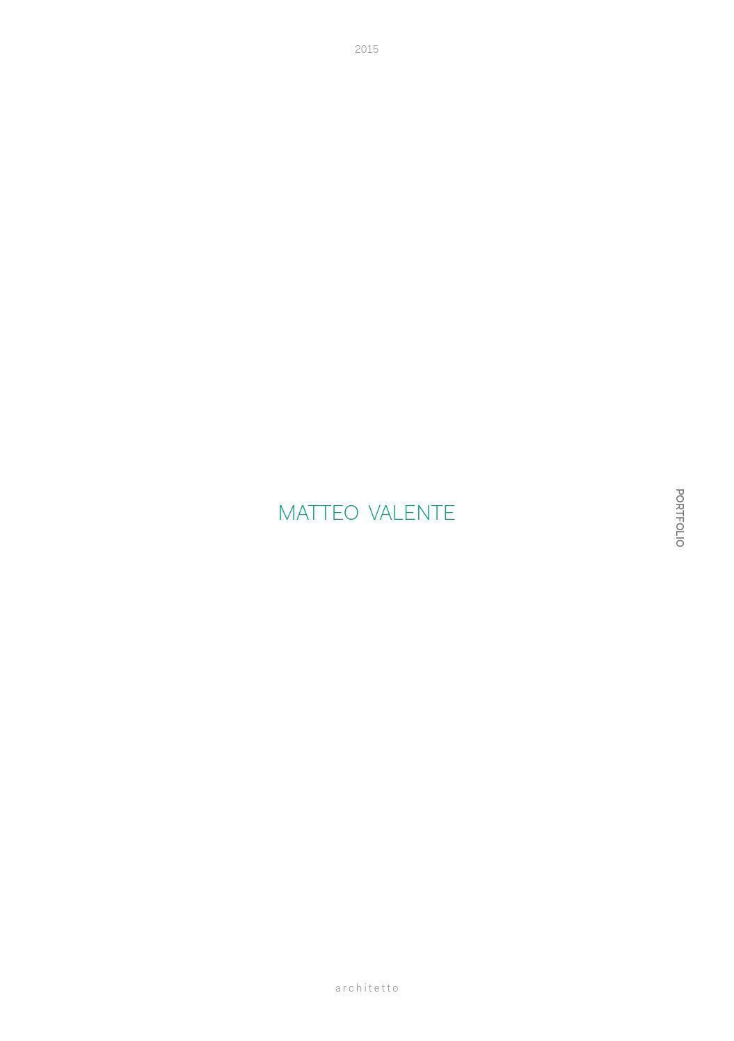MatteoValente Portfolio By Matteo Valente Issuu