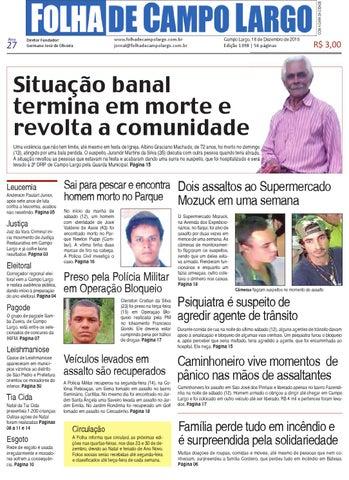 211e93640c8 Folha de Campo Largo by Folha de Campo Largo - issuu