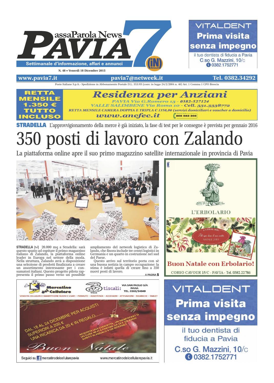 PAVIA7 IN 0482015 by Netweek issuu